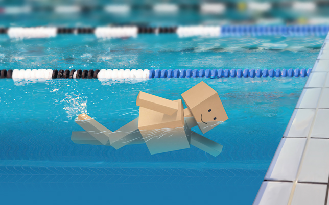 corrugated-products-swimmer